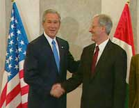 Bush and President Solyom