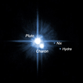 Pluto Hubble Picture