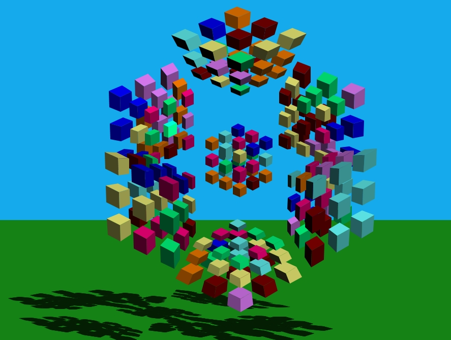 4D Magic Cube
