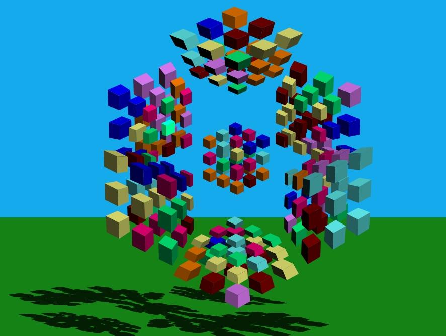 4D Magic Cube
