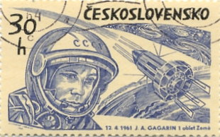The Early Space Age in Stamps